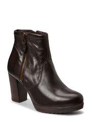 Boot W/Heavy Zip SON14 - Dark Brown