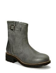 Low Biker Boot SON14 - Grey