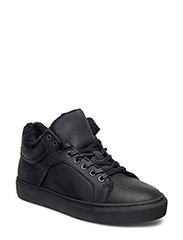 Wool Sneaker Boot JJA16 - BLACK
