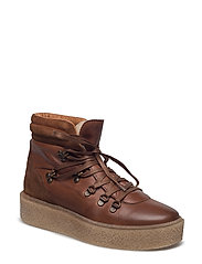 Platform Warm Hiker Boot JAS17 - LIGHT BROWN