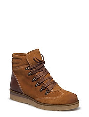 Warm Hiking Boot JAS17 - LIGHT BROWN