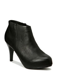 Leather Ankle Boot SON14 - Black
