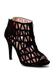 Cutout Party Sandal MAM15 - Black