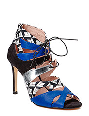 Mixed Party Sandal - Blue