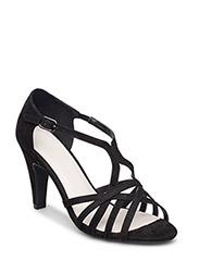 Feminine Strap Sandal MAM16 - BLACK