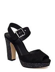Glitter Sandal EXP17 - BLACK