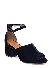 Velvet Party Sandal JAS17 - NAVY BLUE