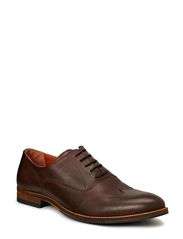 Dressy Lace Up Shoe - Dark Brown