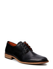 Perforated Dress Shoe DJF15 - Black