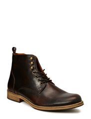 Leather Dressy Boot JJA14 - Dark Brown