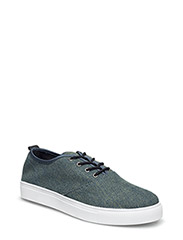 Laced Up Casual Shoe MAM16 - DARK DENIM