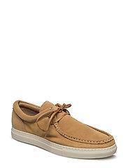 Suede Cas Shoe - MUSTARD