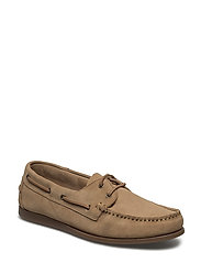 Suede Boat Shoe EXP17 - SAND