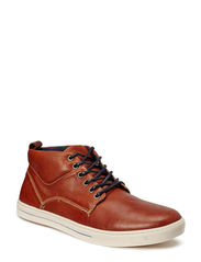 Leather Midcut Sneaker SON14 - Mid Brown
