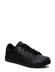 Mens Retro Sneaker DJF15 - Black
