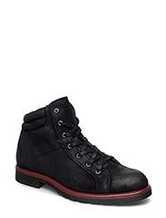Warm Raw Boot SON16 - BLACK