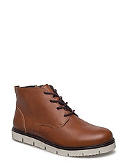 Grainy Warm Boot - LIGHT BROWN