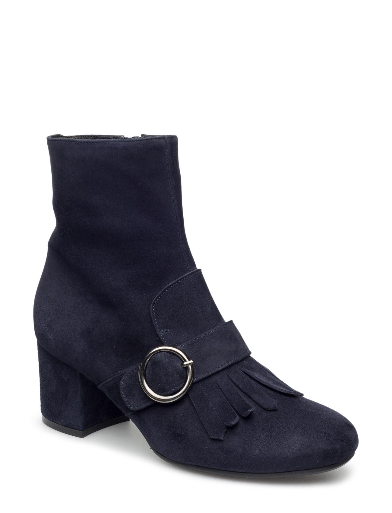 Boots Billi Bi Støvler til Kvinder i Sort Babysilk Suede 500