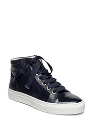 BOOTS - NAVY PATENT/NAPPA/SUEDE 271