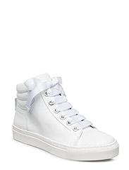 BOOTS - WHITE CROCO/CALF 483