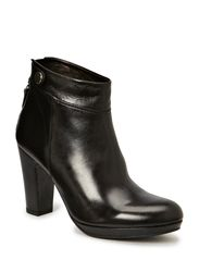 Ancle boot - Black nappa/silver 703