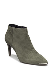 BOOTS - LT. GREEN SUEDE 55