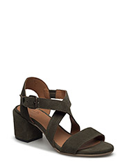 SANDALS - OLIVE SUEDE 55