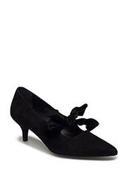 BOOTS - BLACK SUEDE/VELVET 590