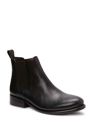 Ancle Boot - Black calf