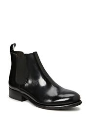 Ancle Boot - Black polido 90