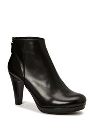 Ancle Boot - Black calf 80