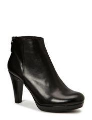 Ancle Boot - Black calf 80