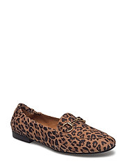 SHOES - LEOPARDO SUEDE/GOLD 540