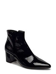 BOOTS - BLACK PATENT/SILVER 200