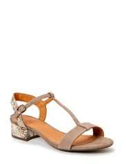 SANDALS - Roma suede/nat. snake 533