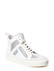 SHOES - White suede/calf/mesh 583