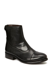 Ankle boot - Black calf