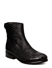 Ancle Boot - BLACK PYTHON 20 T1