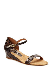 SANDALS - Brown multi snake 306