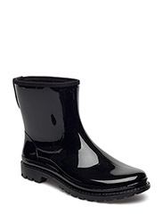 RAIN BOOTS - BLACK SHINY 40