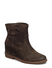 BOOTS - OLIVE SUEDE 555
