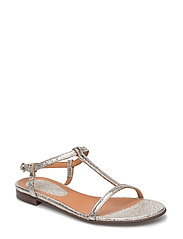 SANDALS - PLATINUM 060 FERRER METAL 2