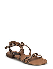 SANDALS - LEOPARDO SUEDE 982