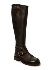 Long biker boot - T.moro tomcat/gold 862