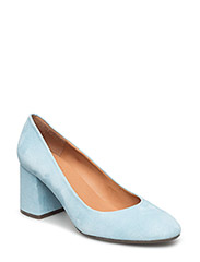 PUMPS - LT. BLUE CAPLE SUEDE 511