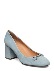 PUMPS - LIGHT BLUE SUEDE 511