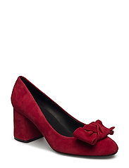 PUMPS - RED SUEDE 59