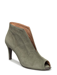 BOOTS - LIGHT GREEN SUEDE 55