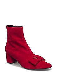 BOOTS - RED SUEDE 559