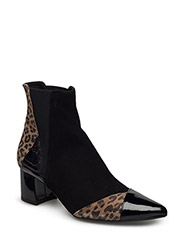 BOOTS - BLACK PAT/SUE/LEOPARDO 255